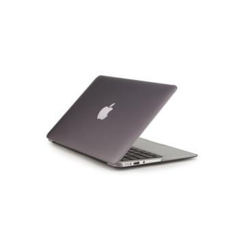 MacBook polikarbonát védőhéj 2 az 1-ben - fekete - Macbook Air 11″  készülékhez