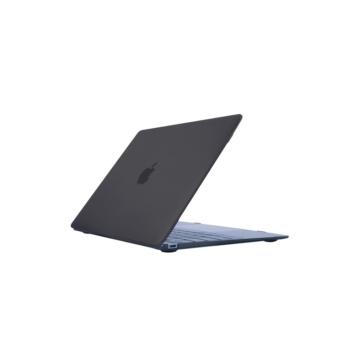 MacBook polikarbonát védőhéj 2 az 1-ben - fekete - MacBook 12″  készülékhez