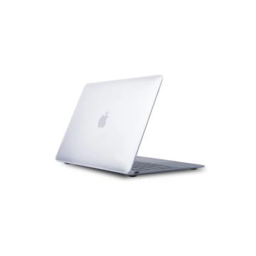 MacBook polikarbonát védőhéj 2 az 1-ben - átlátszó - MacBook 12″  készülékhez