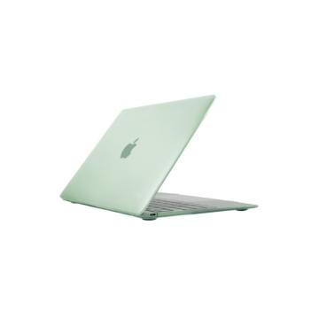 MacBook polikarbonát védőhéj 2 az 1-ben - zöld - MacBook 12″ készülékhez
