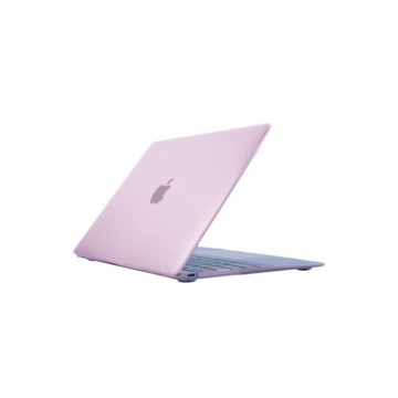 MacBook polikarbonát védőhéj 2 az 1-ben - rózsaszín - MacBook 12″ készülékhez