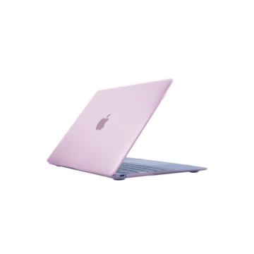 MacBook polikarbonát védőhéj 2 az 1-ben - rózsaszín - Macbook Pro 13″ Retina készülékhez