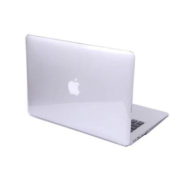 MacBook polikarbonát védőhéj 2 az 1-ben - Crystal Clear - Macbook Pro 13″ Retina  készülékhez