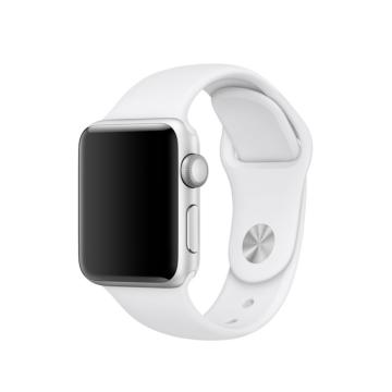 Apple Watch sportszíj - fehér - 42 mm/44 mm