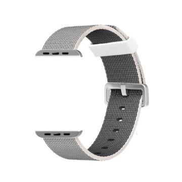 Apple Watch szőtt műanyag szíj - szürke - 38 mm/40 mm