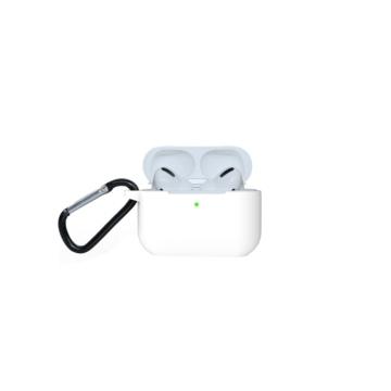 Airpods Pro szilikon tok - fehér