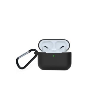 Airpods Pro szilikon tok - fekete