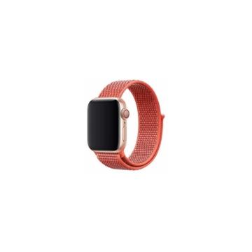 Apple Watch tépőzáras szíj - piros - 42 mm/44 mm