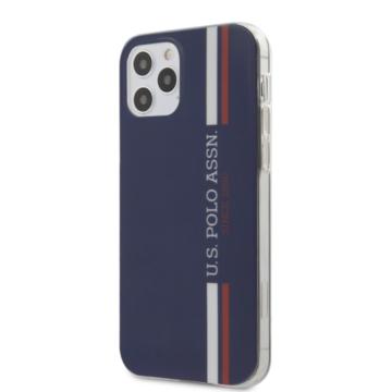 U. S. Polo tok (USHCP12SPCUSSNV) - Apple iPhone 12 Mini készülékhez - sötétkék