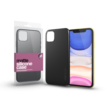iPhone 12 Pro Max Matte tok - fekete