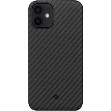 "PITAKA iPhone 12 tok 6,1"" (KI1201M) - fekete/szürke"