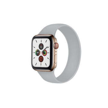 Apple Watch solo szilikonszíj - szürke - 38 mm/40 mm, M-méret