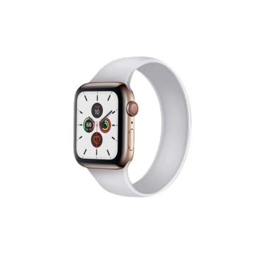 Apple Watch solo szilikonszíj - fehér - 38 mm/40 mm, L-méret