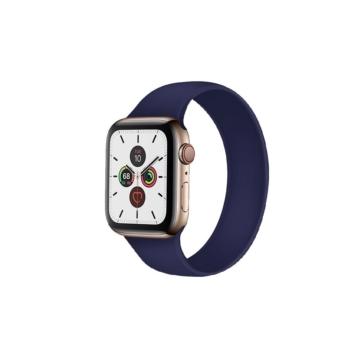 Apple Watch solo szilikonszíj - sötétkék - 42 mm/44 mm, M-méret