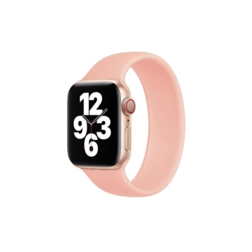 Apple Watch solo szilikonszíj - pink - 42 mm/44 mm, M-méret