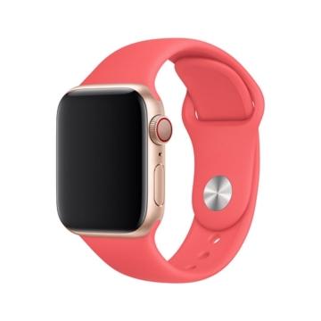 Apple Watch sportszíj -  korall - 38 mm/40 mm
