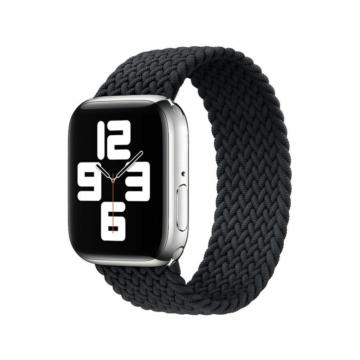 Apple Watch fonott körpánt - fekete - 42 mm/44 mm, M-méret