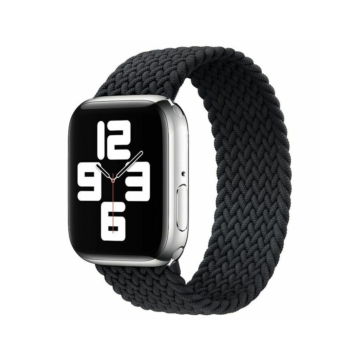 Apple Watch fonott körpánt - fekete - 38 mm/40 mm, L-méret