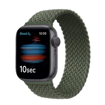 Apple Watch fonott körpánt - zöld - 42 mm/44 mm, S-méret