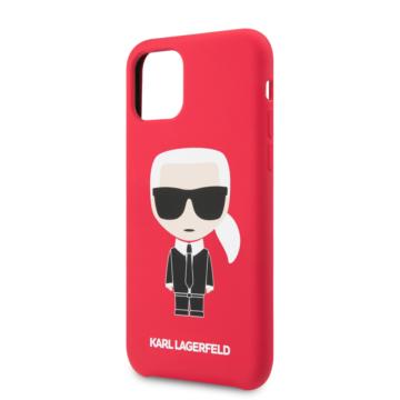 KARL LAGERFELD iPhone 11 Pro tok (KLHCN58SLFKRE) - piros