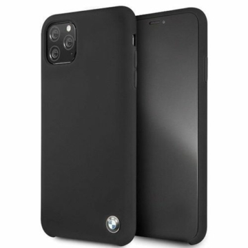 BMW iPhone 11 Pro Max tok (BMHCN65SILBK) - fekete