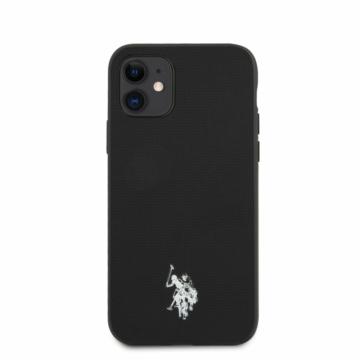 Apple iPhone 11 U. S. Polo USHCN61PUBK Hátlap – fekete