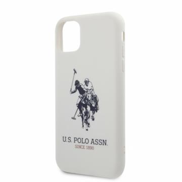 Apple iPhone 11 Pro Max U. S. Polo USHCN65SLHRWH Hátlap – fehér