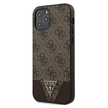 "GUESS iPhone 12 Mini tok 5,4"" (GUHCP12SPU4GHBR) - barna"