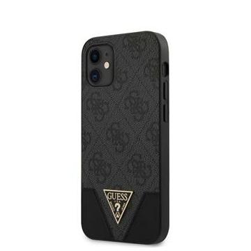 """GUESS iPhone 12 Mini tok 5,4"""" (GUHCP12SPU4GHBK) - szürke"""