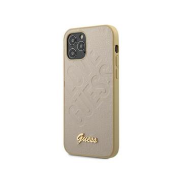 """GUESS iPhone 12 Mini tok 5,4"""" (GUHCP12SPUILGLG) - arany"""