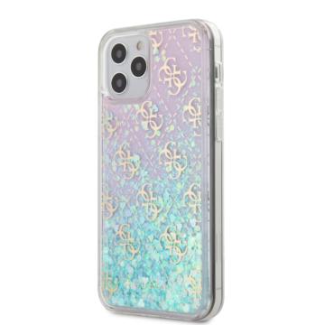 "GUESS iPhone 12/12 Pro tok 6,1"" (GUHCP12MLG4GGBLPI) - rózsaszín"