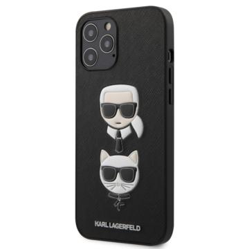 "KARL LAGERFELD iPhone 12 Pro Max tok 6,7"" (KLHCP12LSAKICKCBK) - fekete"