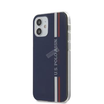 "U.S. POLO iPhone 12 Mini tok 5,4"" (USHCP12SPCUSSNV) - kék"