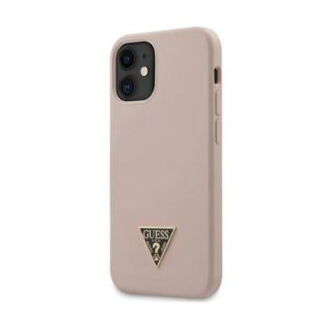 """GUESS iPhone 12 Mini tok 5,4"""" (GUHCP12SLSTMLP) - rózsaszín"""