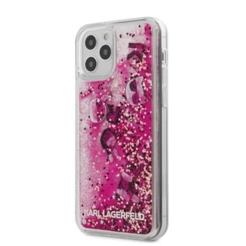 """KARL LAGERFELD iPhone 12/12 Pro tok 6,1"""" (KLHCP12MROPI) - rózsaszín"""