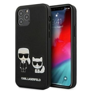 "KARL LAGERFELD iPhone 12 Pro Max tok 6,7"" (KLHCP12LPCUSKCBK) - fekete"