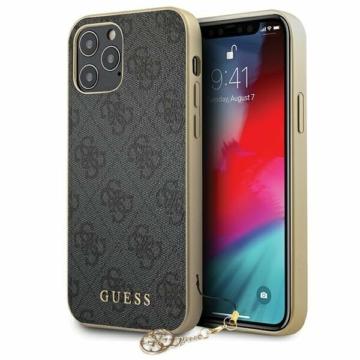 """GUESS iPhone 12/12 Pro tok 6,1"""" (GUHCP12MGF4GGR) - szürke"""