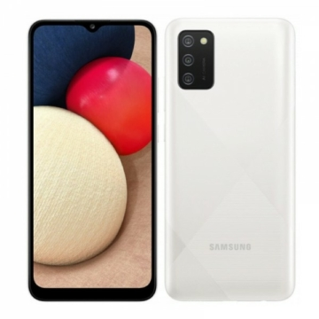 Samsung Galaxy A02s (A025G/DSN) - Dual Sim, 3 GB RAM, 32 GB tárhely - fehér