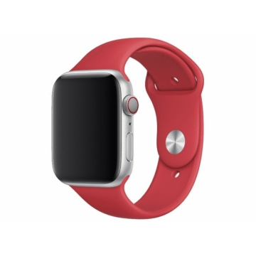 Apple Watch sportszíj - piros - 44 mm