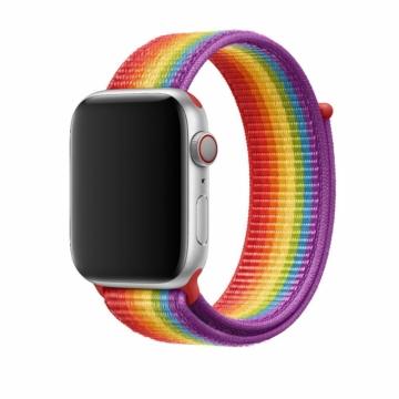 Eredeti Apple Watch sportszíj - pride edition - 44 mm - MV9T2ZM/A