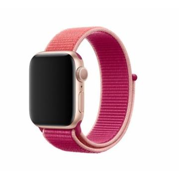 Apple Watch sportszíj - gránátalma piros - 40 mm