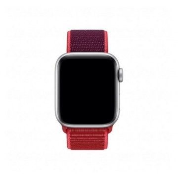 Apple Watch sportszíj - piros - 40 mm