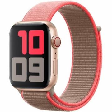 Apple Watch sportszíj - neon pink - 44 mm