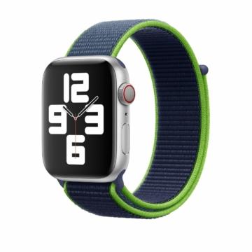 Eredeti Apple Watch sportszíj - neon lime - 44 mm - MXMV2AM/A