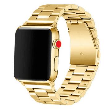 Apple Watch rozsdamentes. vastag acél szíj Arany. 42 / 44mm