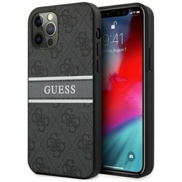 Apple iPhone 12/12 Pro GUESS (GUHCP12M4GDGR) hátlap - szürke