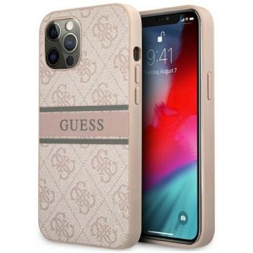 Apple iPhone 12/12 Pro GUESS (GUHCP12M4GDPI) hátlap - rózsaszín