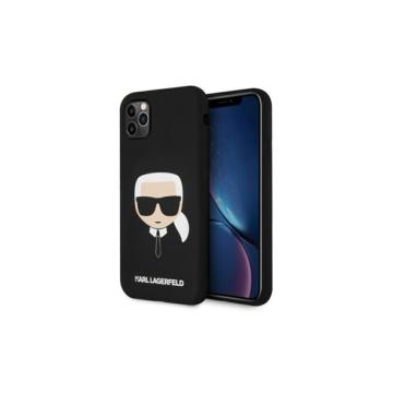 KARL LAGERFELD Apple iPhone 11 Pro tok (KLHCN58SLFKBK) - fekete