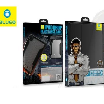 Apple iPad 11'' Blueo Military Könyvtok - Fekete