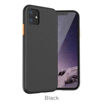 Apple iPhone 11 Pro HOCO Star Lord TPU - fekete - Defender/Ütésálló